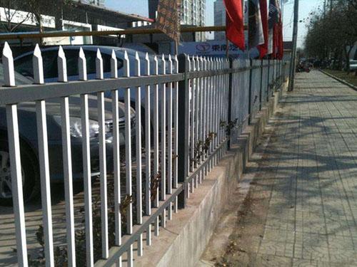 (双横梁)锌钢护栏