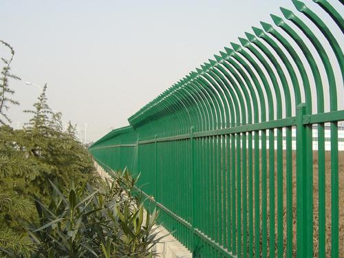 单向弯头锌钢护栏